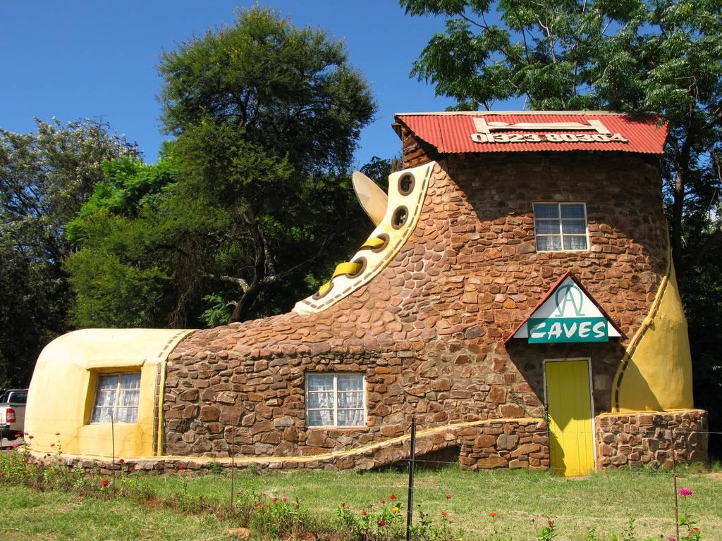 Una bellissima casa a forma di scarpa!!!